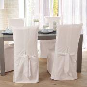 Les accessoires loc vaisselle for Housse de chaise en tissu